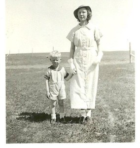 Verna and my brother Jim about 1935