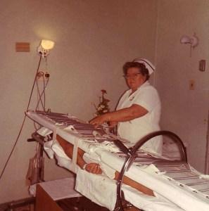 Stryker bed in 1958