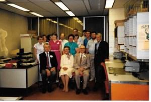 a retirement at SGI