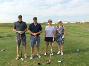 Our team: Rob Butler, Kitch Wilson, Bridget O'Shea and Maureen O'Shea