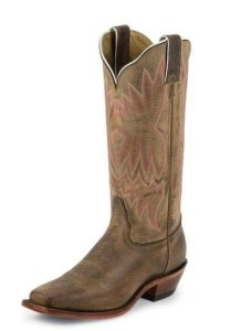 This boot is similar to the ones I had in the 1970's. Photo courtesy of Tony Lama