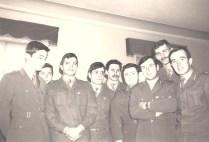 1973 Circolo Ufficiali. Fabretti Pochini Fucellara Miceli Tucci Bianchi Innalfo