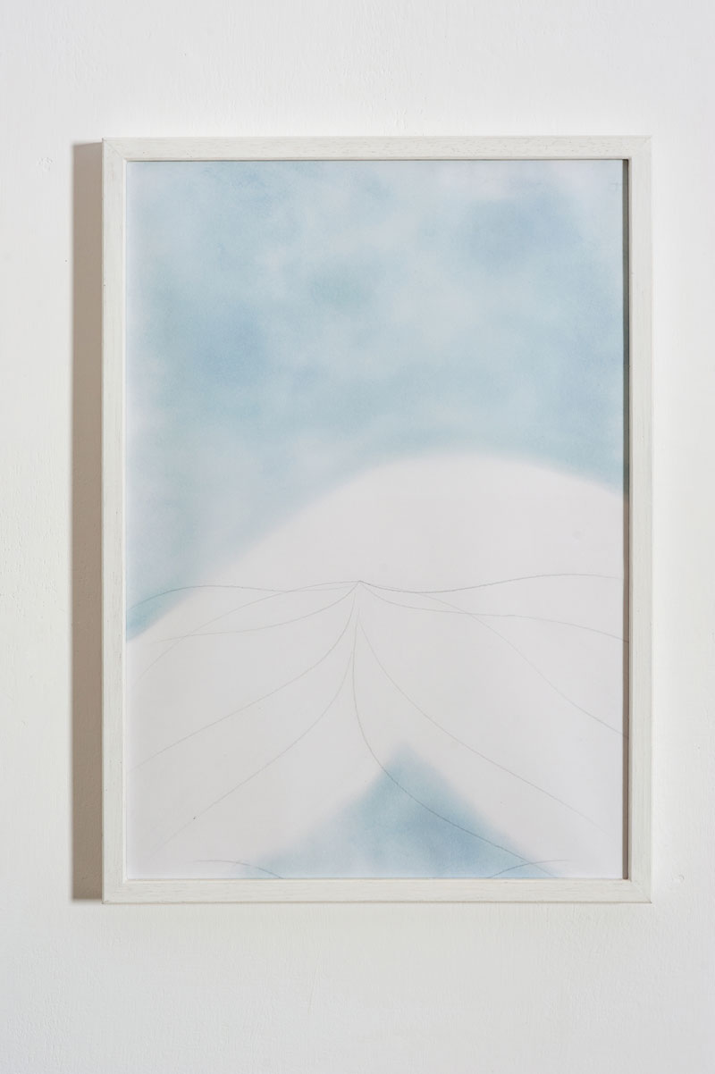 Chiara Dellerba, Untitled #6, mixed media on paper, cm 29,7x21, 2014