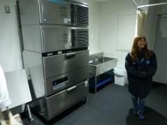 アイシング用の氷をつくる冷凍庫