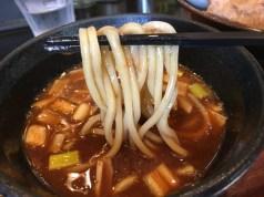 つけ汁がよく絡む麺
