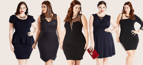 Plus sized? Let me introduce you to the one color you're allowed to wear!