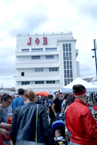 foule au marché
