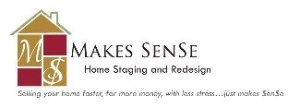 logo of makes sense home staging