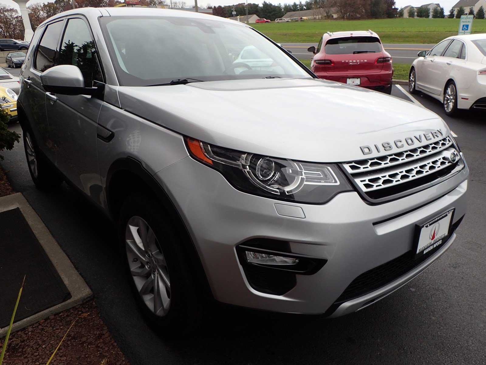 Pre Owned 2016 Land Rover Discovery Sport HSE Sport Utility in