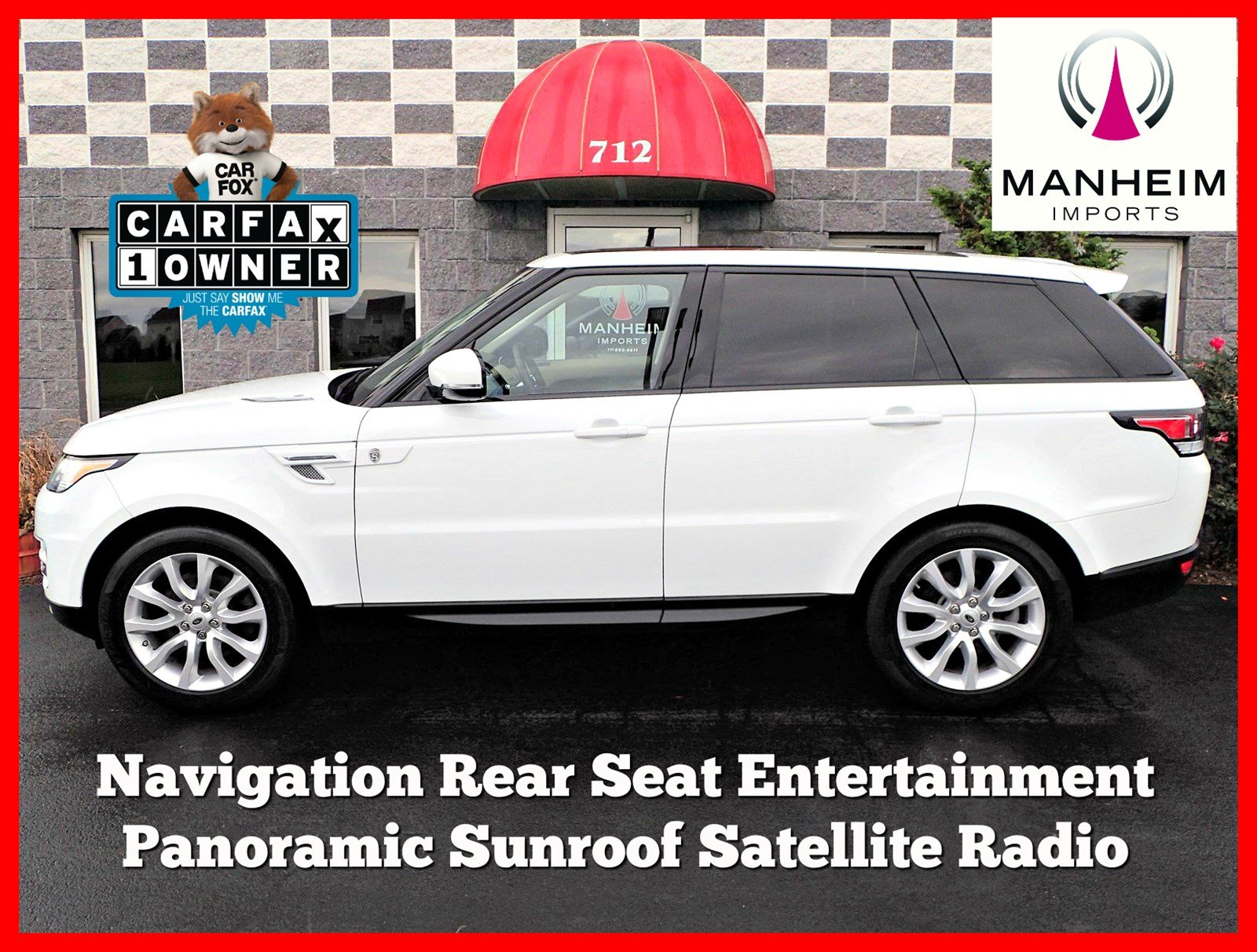Pre Owned 2014 Land Rover Range Rover Sport HSE Sport Utility in