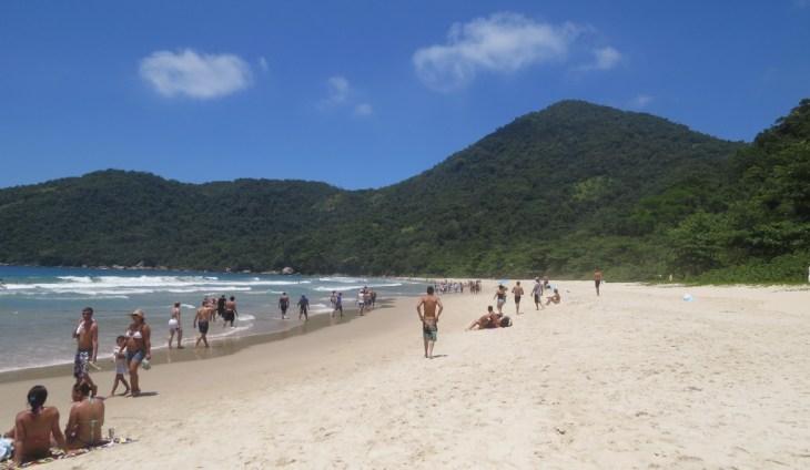 Praia do Cachadaço - Trindade - RJ