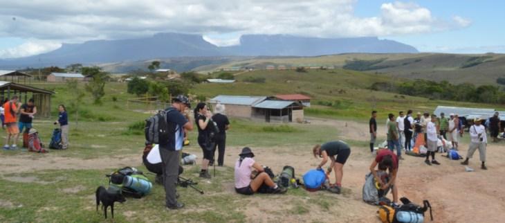 Monte Roraima - Comunidade indígena Paraitepuy