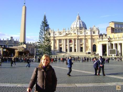Vaticano (vi o Papa nesse dia!)