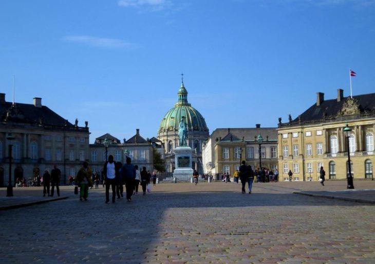 O que fazer em Copenhague - Palácio de Amalienborg - Copenhague - Dinamarca - 7 Cantos do Mundo