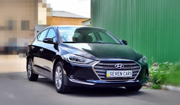 Hyundai Elantra New, 2017, 1,6, АКПП