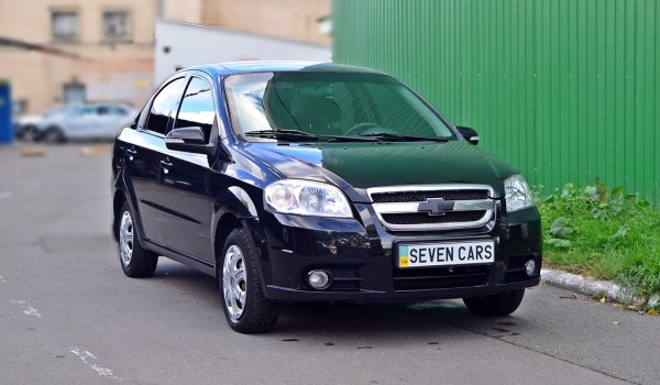 Zaz Vida (Chevrolet Aveo), МКПП