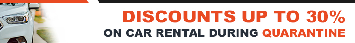 Car rental discounts during quarantine