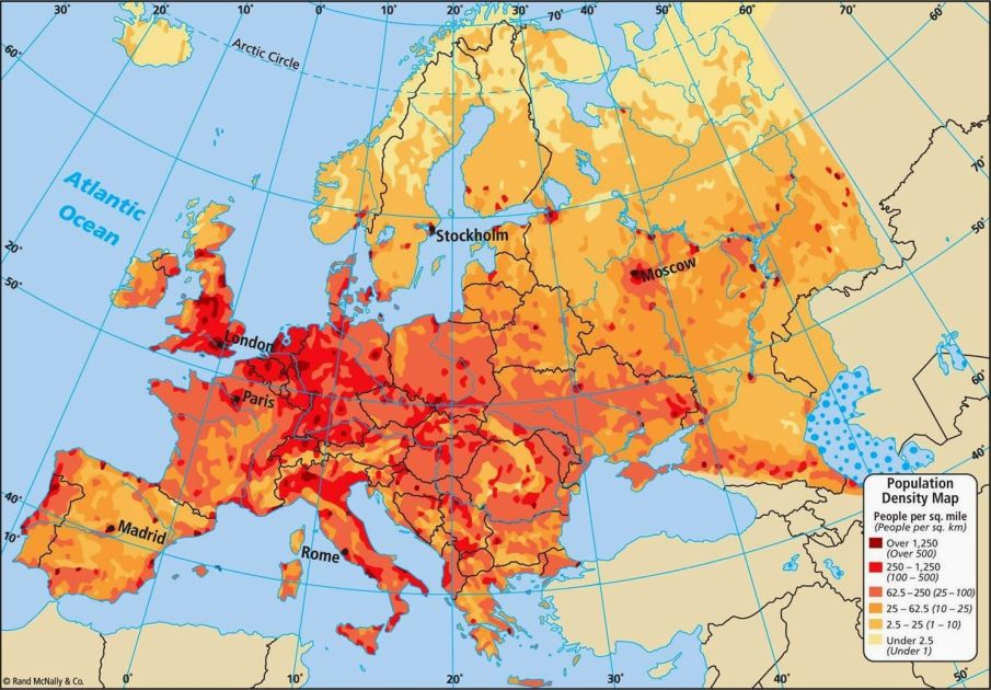 Europe - Map, Facts, Land, People, & Economy