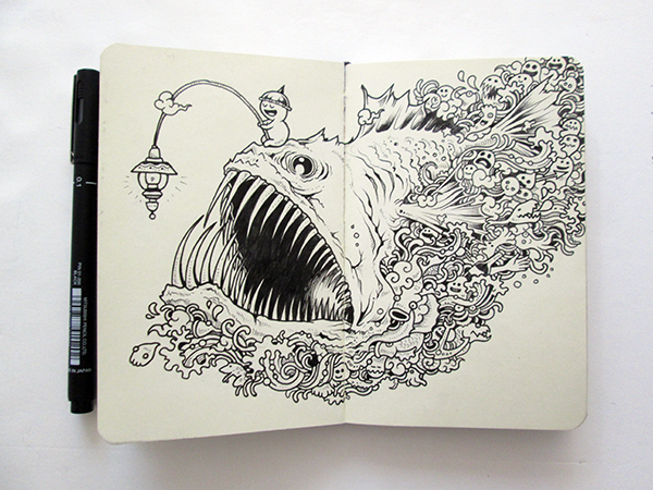 The Daily Muse Illustrator Kerby Rosanes Elusivemuse
