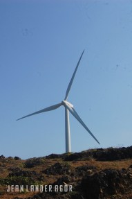 The Bangui windmills covers approximately 9km of the Bangui shore.