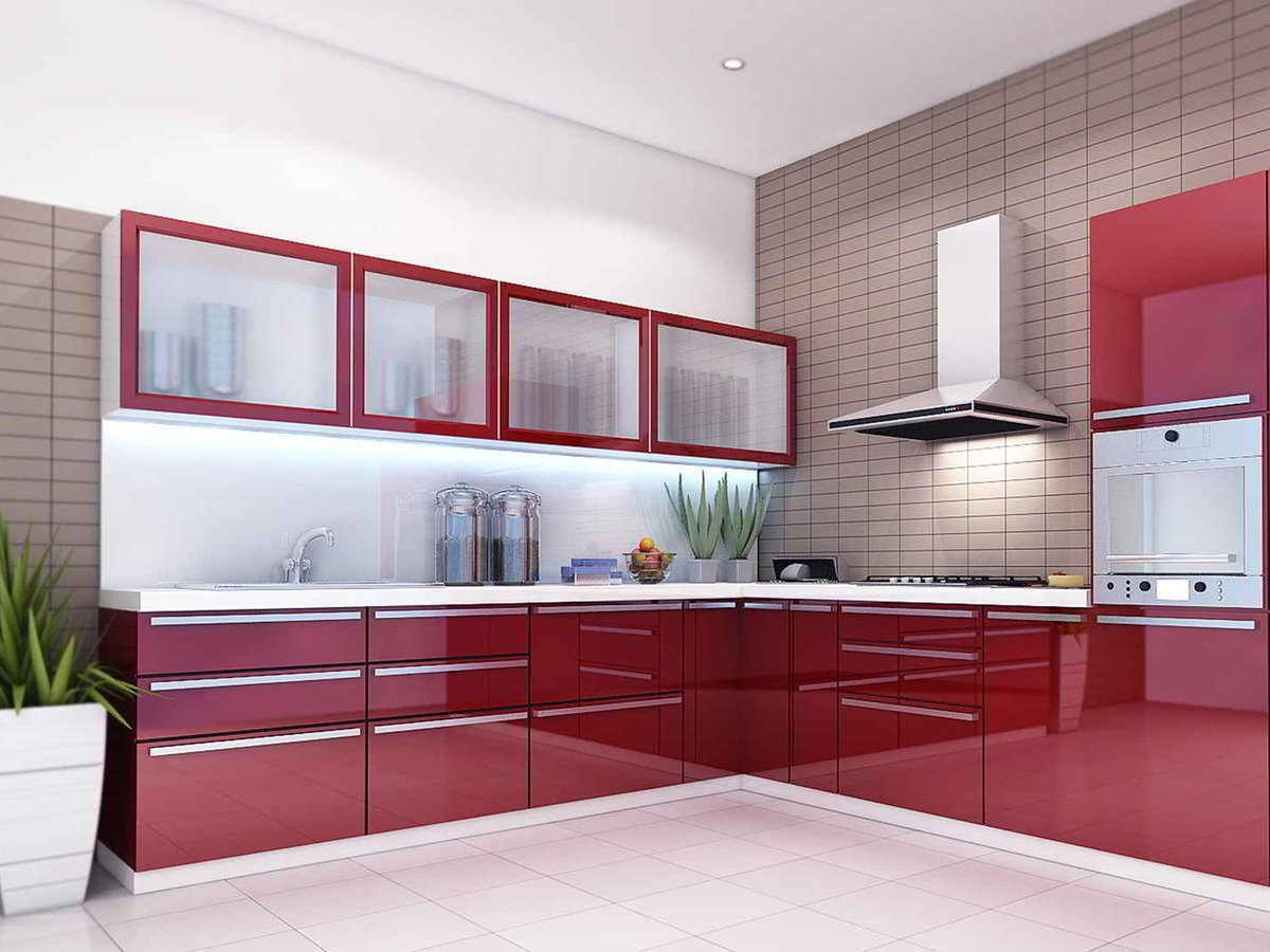 Latest Interior Design Of Modular Kitchen