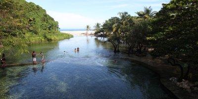 River in North Coast Dominican Republic