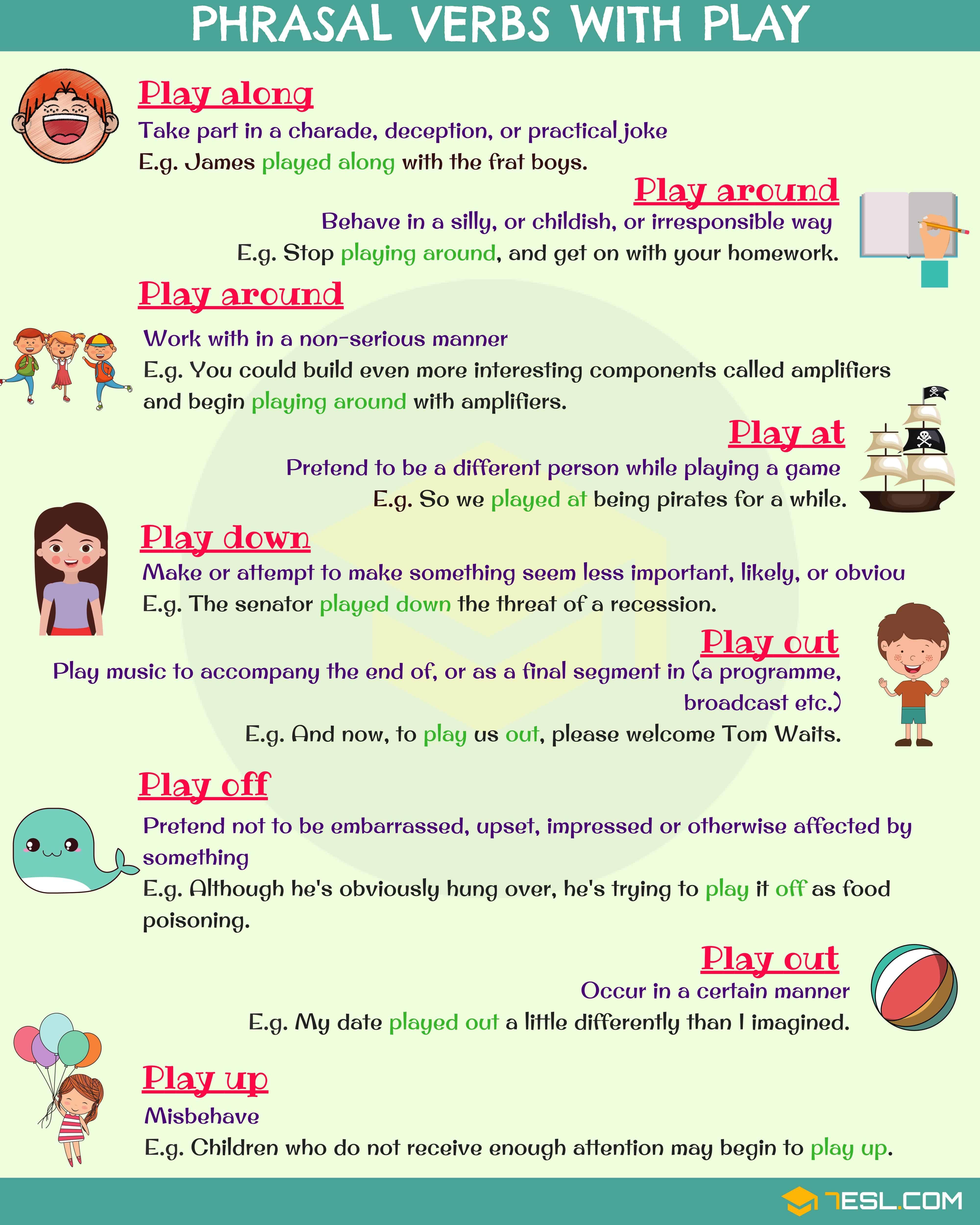 Phrasal Verbs With Play