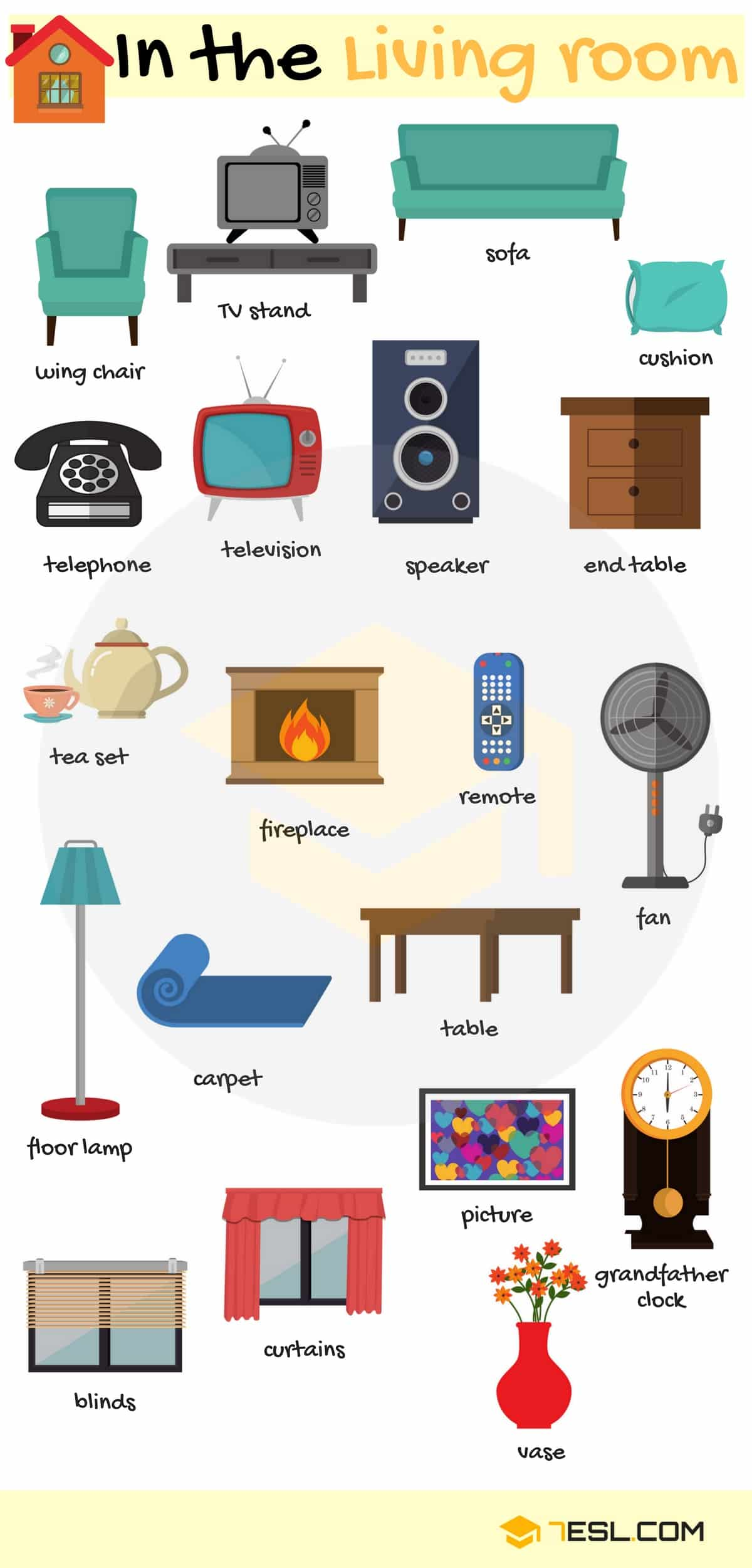 Types Of Furniture Useful Furniture Names With Pictures