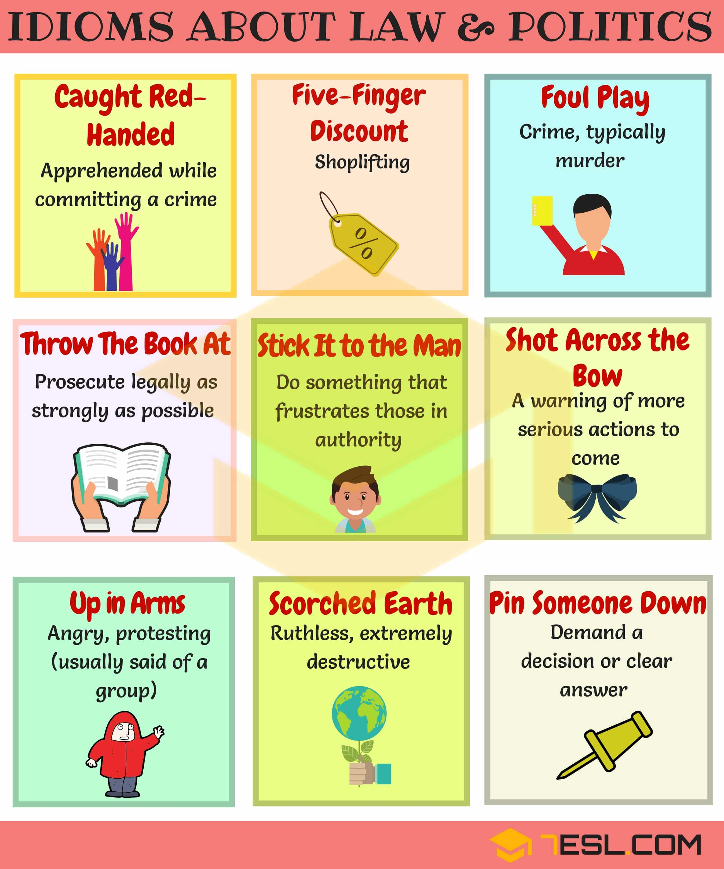 Idioms About Law And Politics