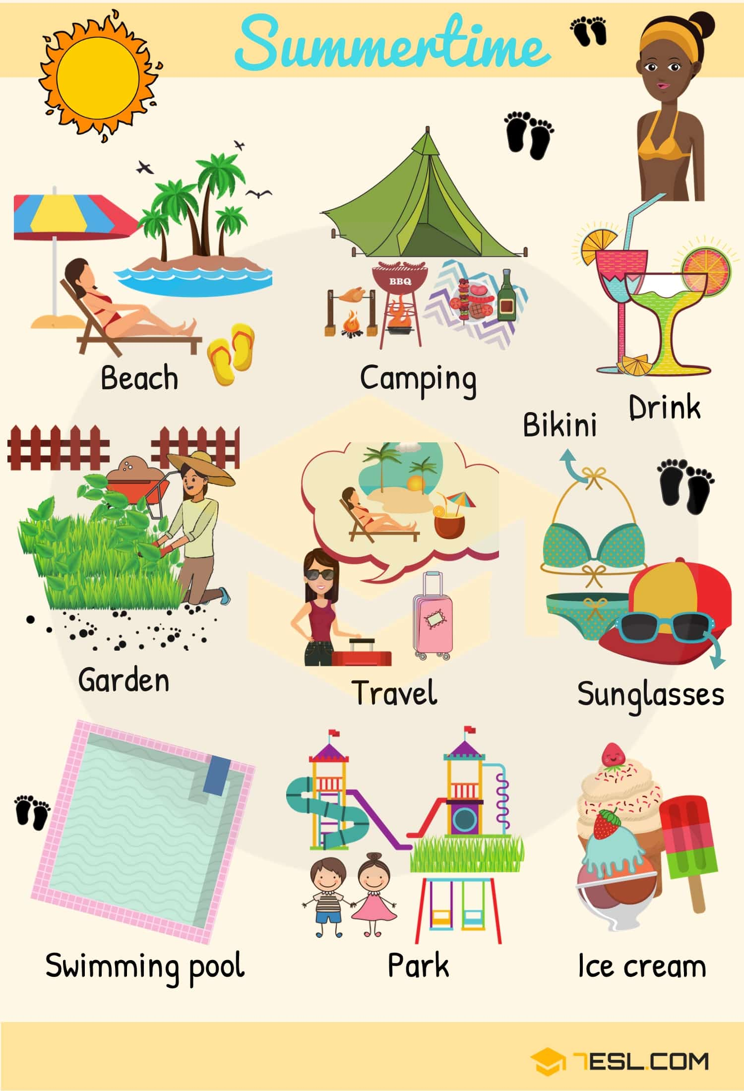 Seasons List Useful Seasons Vocabulary Words With