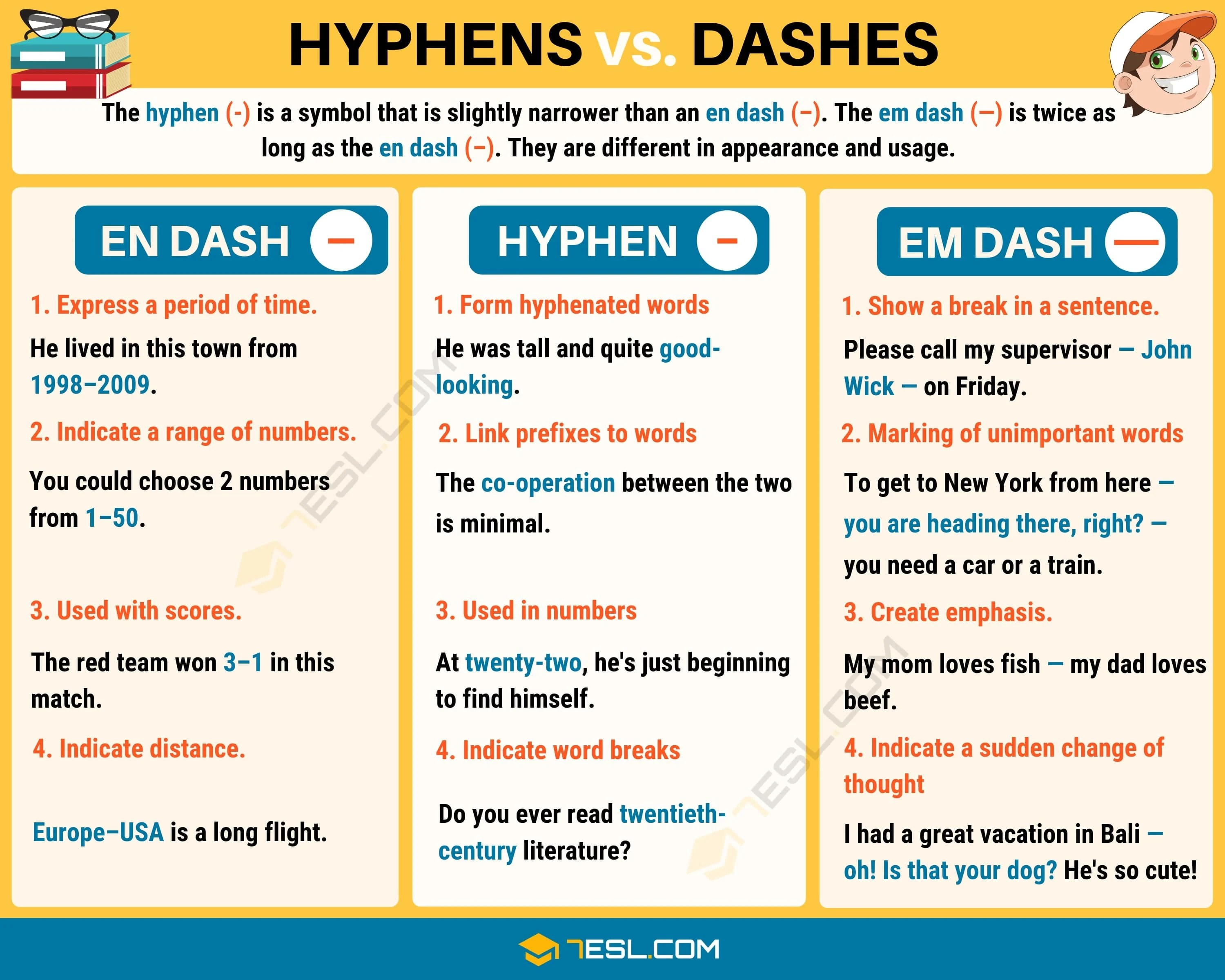 Em Dash When To Use An Em Dash Long Dash
