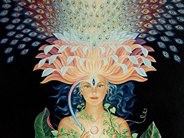 crown-chakra woman