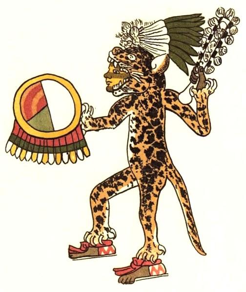 古印加美洲豹戰士