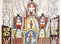 Çatalhöyük wall painting