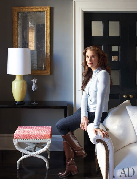 AN EXCLUSIVE LOOK AT BROOKE SHIELDS'S MANHATTAN HOME