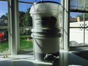 Crush/strain double buckets.