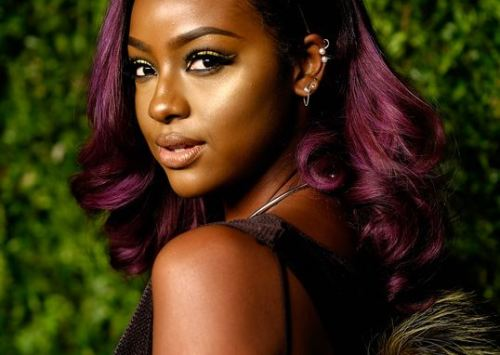 Justine Skye Will Never Give Up Her Purple Hair