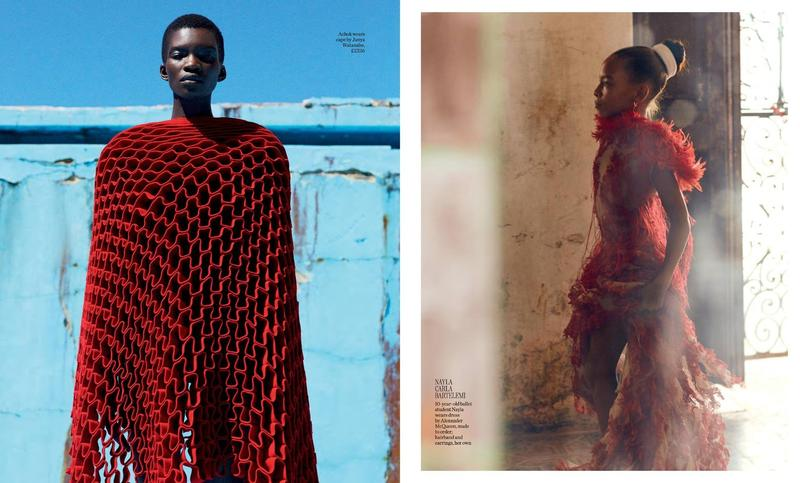 Achok Majak in Porter Fall 2015 by Mikael Jansson
