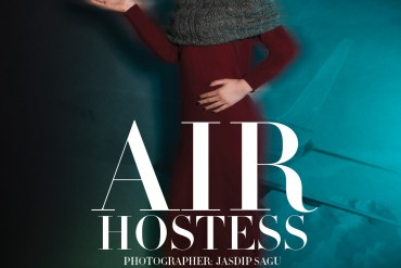 Air Hostess by Jasdip Sagu for 7HuesOnline
