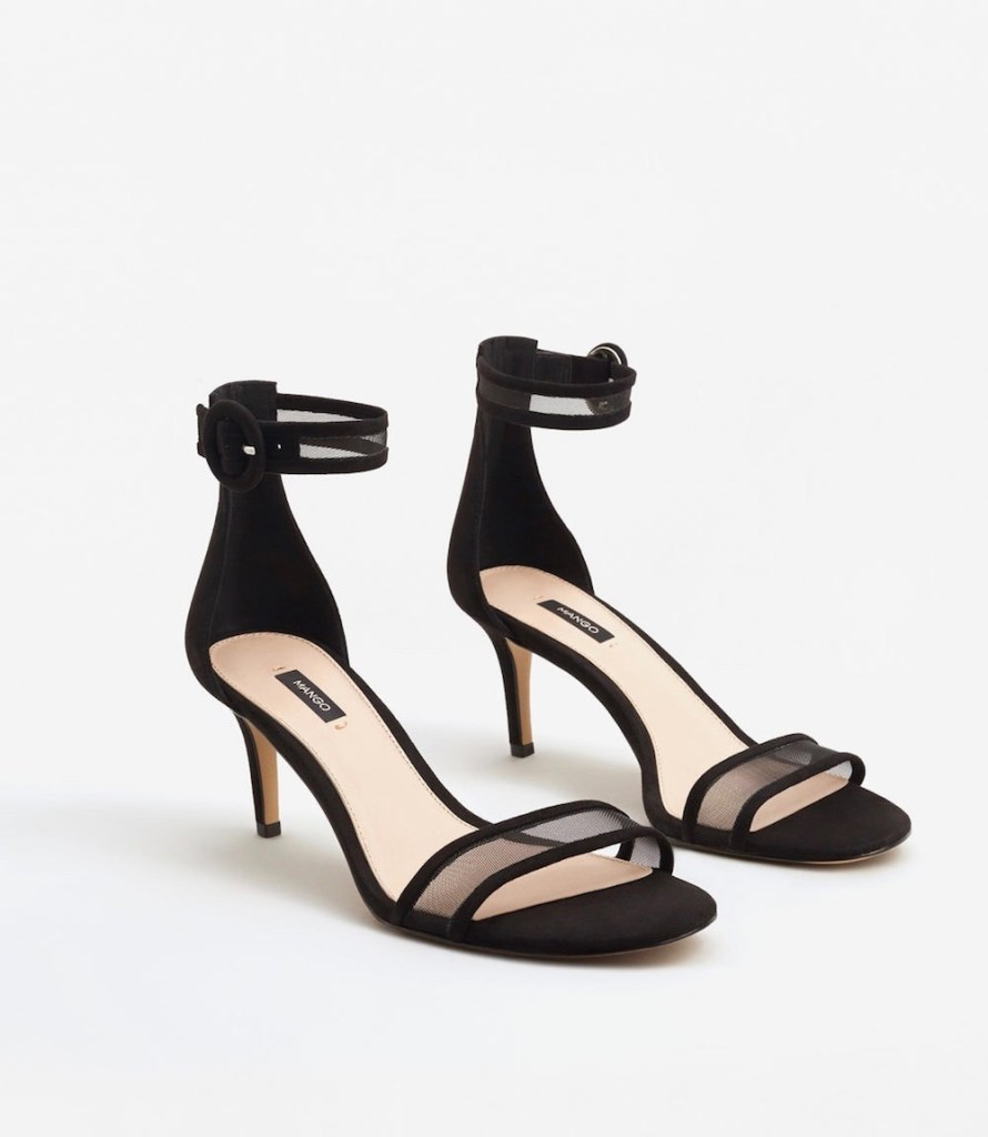 Ankle-Cuff Sandals, $59.99 at Mango