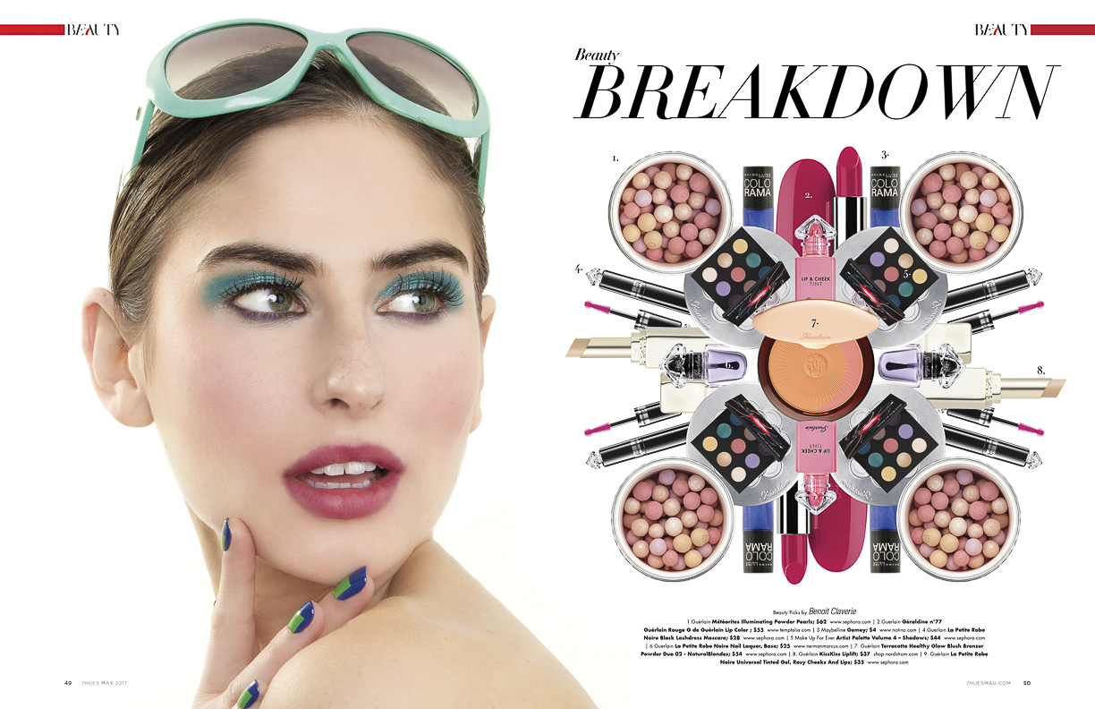 Beauty Picks by Benoit Claverie for Squeeze Girl - 7Hues Magazine