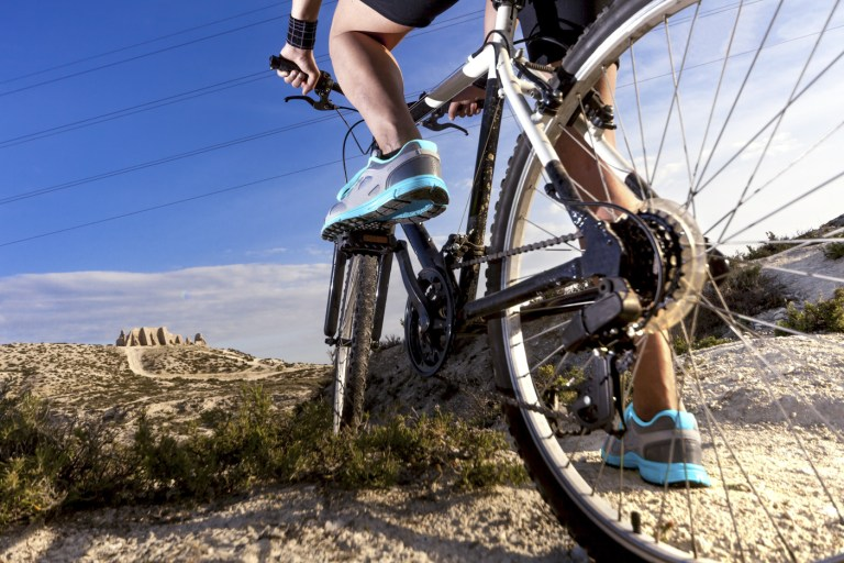 Mountain bike.Sport and healthy life