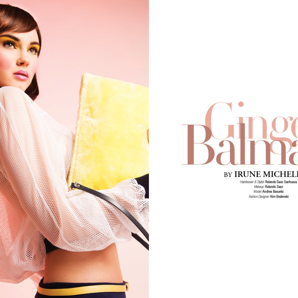 Ginger Balmain by Irune Michelena for 7Hues Online
