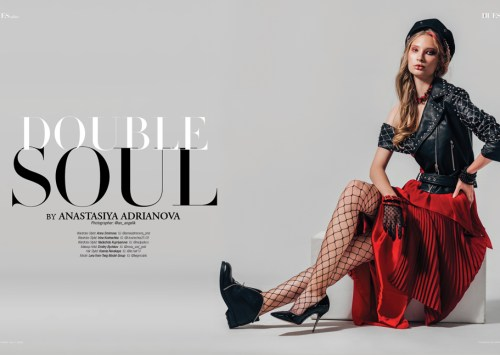 Double Soul by Anastasiya Adrianova for 7Hues Mag Online