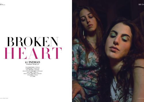 Broken Heart by Indigo for 7Hues Mag Online