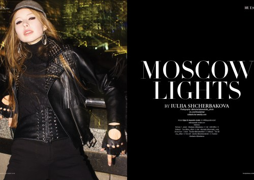 Moscow Lights by Iuliia Shcherbakova for 7HuesOnline