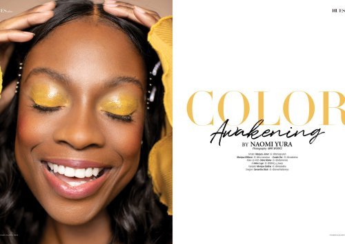 Color Awakening by Naomi Yura for 7Hues Online