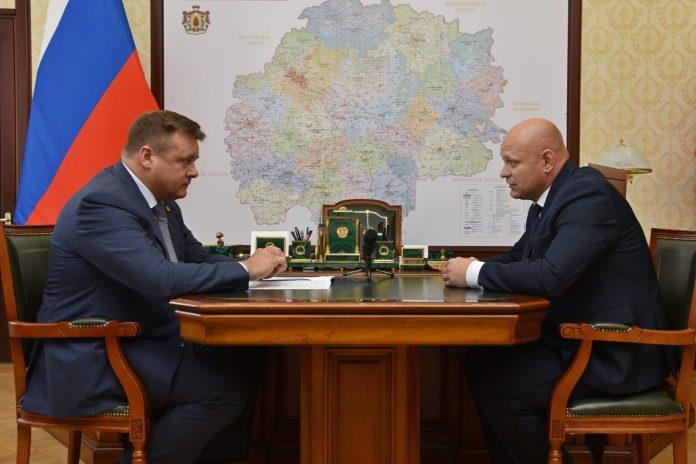 Николай Любимов встретился с главой Ухоловского муниципального района