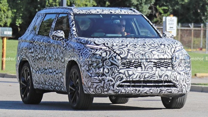 Новый Mitsubishi Outlander будет презентован в 2020 году