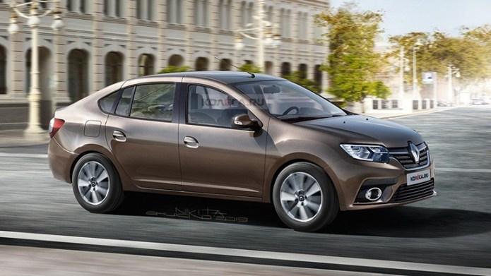 В Сети показали изображения лифтбека Renault Logan